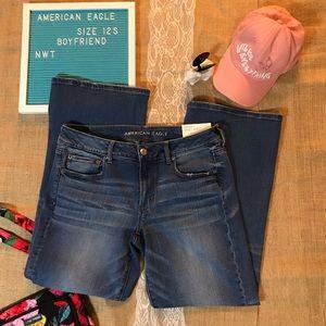 American Eagle Boyfriend Jeans - NWT - 12 Short